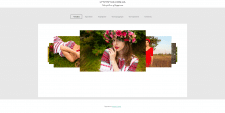 Сайт фотографа, портфолио