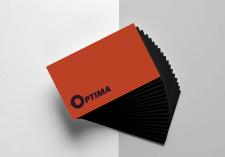 визитка Оптима / Wh /