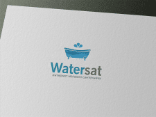 Логотип для интернет-магазина WaterSAT
