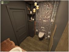 Туалет в кафе