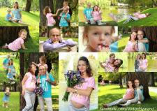 Семейное фот на природе