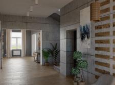 Eclectic loft. lobby