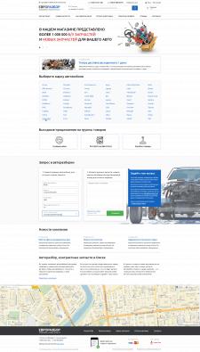 E-commerce of Car Spare Parts - Eurorazbor