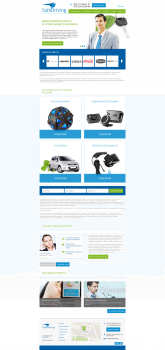 Корпоративный сайт для Safe driving