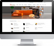 Интернет Магазин для компании «ТеплоКрым»