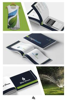 логотип и логобук для Water Dream