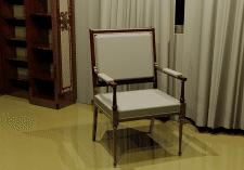 проектирование и 3Д визуализация стула