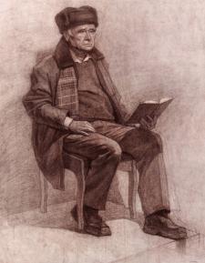 Портрет натурщика