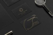 Разработка логотипа и визитки для фотографа