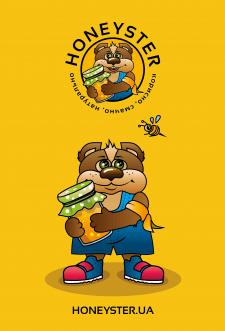 Logo. Honeyster