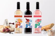 Дизайн етикетки для вина