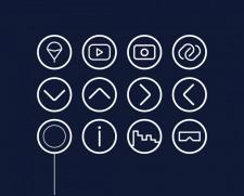 Иконки для сайта «КрымАэроГид»