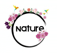 Логотип на тему природы.