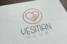 """Логотип для """"YesMan"""""""