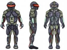 Создание концепт арта игрового персонажа