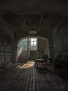 Старая лестница.