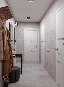 3D визуализация коридор