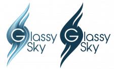 "Логотипа кафе ""Стеклянное небо"""