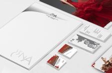 Фирменный стиль для компании по пошиву одежды