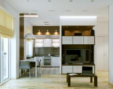 Бюджетная квартира для молодой семьи