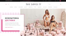 Интернет-магазин Victoria's Secret