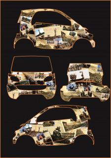 Разработка брендинга автомобиля