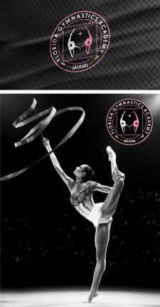 Логотип для академии гимнастики