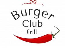 Логотип для кафе быстрого питания—«Burger club»