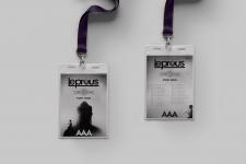концертная карта для норвежской рок группы Leprous