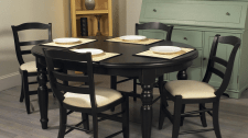 Производство столов из дуба