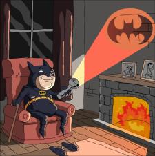 Batman в старости