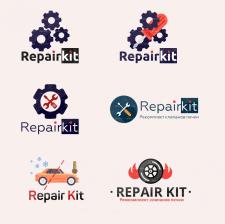 "Разработка логотипов для ""Repair Kit"""