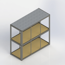 Каркас 2х эт разборного  модуля 6х2,4х5,6м