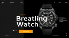 Landing Breatling Watch