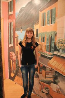Роспись стены Чернигов