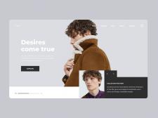 Zara | Бренд одежды | Интернет-магазин | Концепт