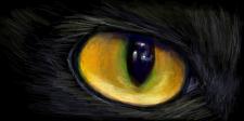 Кошачий глаз (растровая графика)