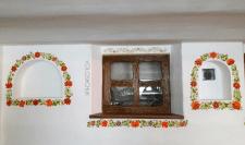 Роспись стен ресторана , петриковская роспись