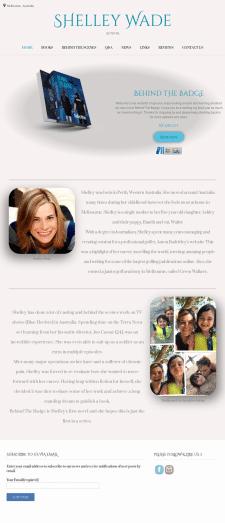 Shelley Wade (Сайт для Автора Книги)