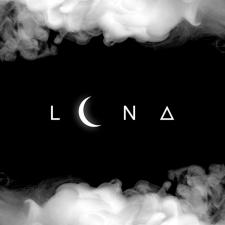 """Логотип для кальянной """"LUNA"""""""