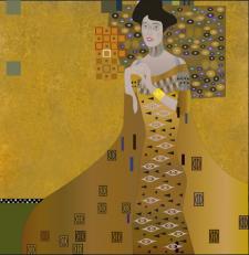 Illustrator, репродукція картини символами