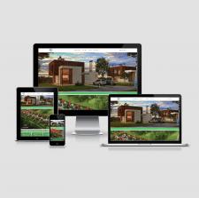 Создание сайта - по продажам коттеджей