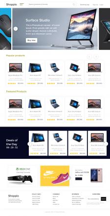 Главная страница интернет-магазина техники