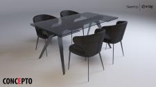 3d моделирование мебели+визуализация