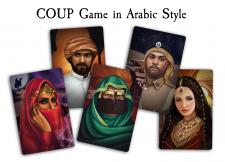 иллюстрации персонажей игры coup