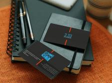 """Визитная карточка для компании """"3.33"""""""