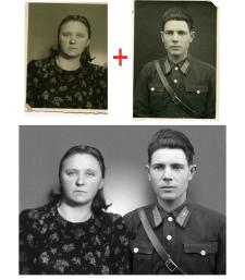 Совмещение портретов