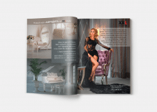 Реклама XXL STUDIO в журнале