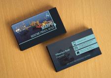 Дизайн визитки для оффшор-крюинга Marpo Crewing.