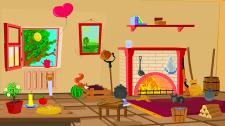 Комната с предметами